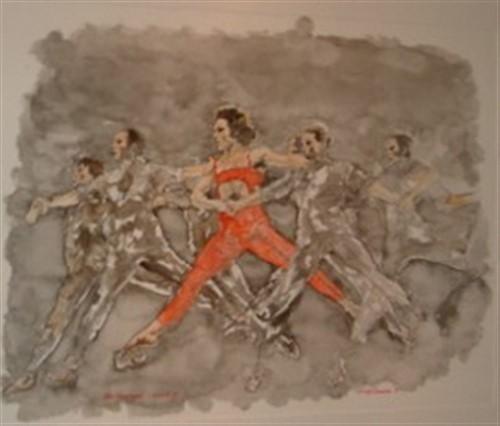 Aquarel ballet